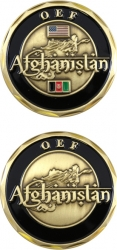 View Buying Options For The Operation Enduring Freedom Afghanistan OEF Challenge Coin