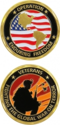 View Buying Options For The Operation Enduring Freedom Fighting Challenge Coin