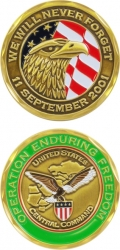 View Buying Options For The Operation Enduring Freedom We Will Never Forget Challenge Coin