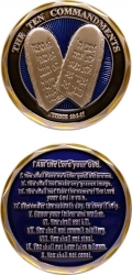 View Buying Options For The The 10 Commandments Spirit Challenge Coin