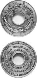 View Buying Options For The Crown of the Holy Spirit Isaiah 53:5 Spirit Challenge Coin