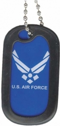 View Buying Options For The US Air Force Hap Wings Dog Tag with Silencer