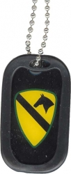 View Buying Options For The US Army 1st Cavalry Division Dog Tag with Silencer