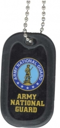 View Buying Options For The US Army National Guard Dog Tag with Silencer