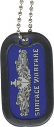 View Buying Options For The Navy Surface Warfare Enlisted Dog Tag with Silencer