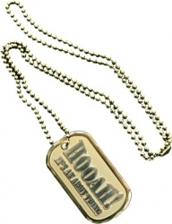 View Buying Options For The Hooah Its An Army Thing Metal Embossed Dog Tag
