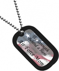 View Buying Options For The US Air Force Mom Dog Tag with Silencer