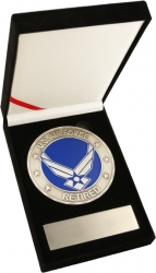 View Buying Options For The United States Air Force Retired Medallion In Gift Box