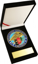 View Buying Options For The Operation Enduring Freedom with Eagle Medallion In Gift Box