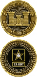 View Buying Options For The United States Army Engineers Challenge Coin