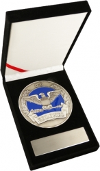 View Buying Options For The US Air Force Colonel 0-6 Medallion In Gift Box