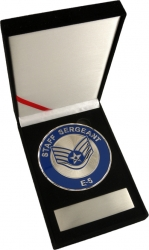 View Buying Options For The US Air Force Staff Sargent E-5 Medallion In Gift Box