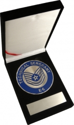 View Buying Options For The US Air Force Technical Sergeant E-6 Medallion In Gift Box