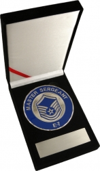View Buying Options For The US Air Force Master Sergeant E-7 Medallion In Gift Box