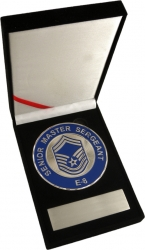 View Buying Options For The US Air Force Senior Master Sergeant E-8 Medallion In Gift Box