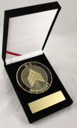 View Buying Options For The US Army E-5 Sergeant Medallion In Gift Box