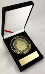 View Buying Options For The US Army E-6 Staff Sergeant Medallion In Gift Box
