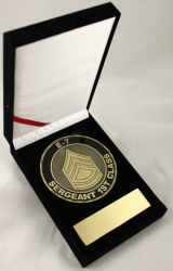 View Buying Options For The US Army E-7 Sergeant 1st Class Medallion In Gift Box