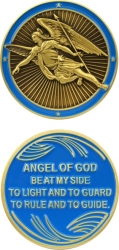 View Buying Options For The Angel of God Spirit Challenge Coin
