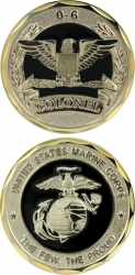 View Buying Options For The United States Marine Corps 0-6 Colonel Challenge Coin