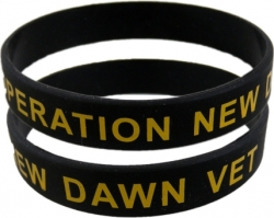 View Buying Options For The Operation New Dawn Veteran Silicone Rubber Wristband Bracelet [Pre-Pack]