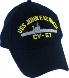 View Buying Options For The USS John F. Kennedy Emblem Mens Cap