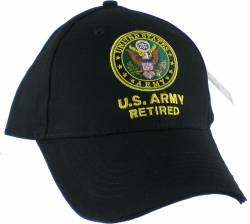 View Buying Options For The U.S. Army Retired Mens Cap