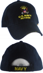 View Buying Options For The U.S. Navy Retired Eagle Logo Emblem Mens Cap