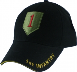 View Buying Options For The Eagle Crest 1st Infantry Division The Big Red One Mens Cap