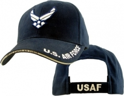 View Buying Options For The U.S. Air Force Hap Wings Logo Brushed Cotton Mens Cap