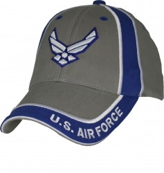 View Buying Options For The US Air Force 2-Color 3D Wings Emblem Mens Cap