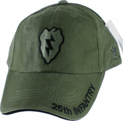 View Buying Options For The 25th Infantry Division Tonal Washed Mens Cap