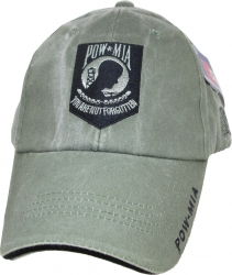 View Buying Options For The POW MIA Tonal Color Insignia Mens Cap