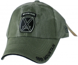 View Buying Options For The Eagle Crest 10th Mountain Division Tonal Washed Mens Cap
