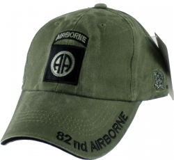 View Buying Options For The 82nd Airborne Division Tonal Color Insignia Mens Cap