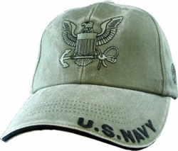 View Buying Options For The U.S. Navy Logo Tonal Washed Mens Cap