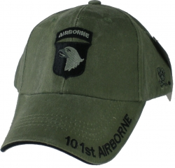View Buying Options For The 101st Airborne Division Tonal Color Insignia Mens Cap