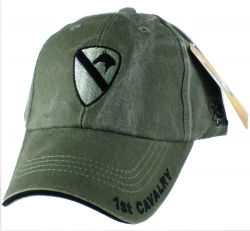 View Buying Options For The 1st Cavalry Division Tonal Color Insignia Mens Cap