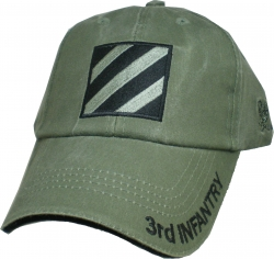 View Buying Options For The 3rd Infantry Division Tonal Washed Mens Cap
