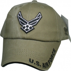 View Buying Options For The US Air Force Tonal Color Hap Wings Washed Mens Cap