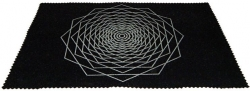 View Buying Options For The Dodeca Fractal Sacred Geometry Mat