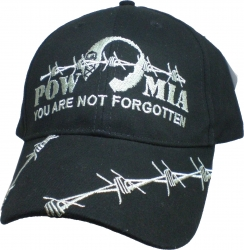 View Buying Options For The POW MIA You Are Not Forgotten Barbed Wire Mens Cap