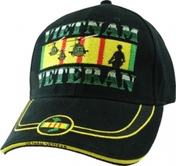 View Buying Options For The Vietnam Veteran Forgotten Generation Pipe Stripe Mens Cap
