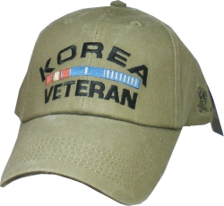 View Buying Options For The Korea Veteran Ribbons Washed Mens Cap