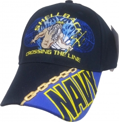 View Buying Options For The US Navy Shellback Crossing The Line Mens Cap