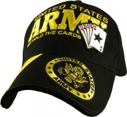 View Buying Options For The United States Army We Hold The Cards Mens Cap