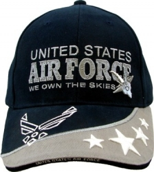 View Buying Options For The United States Air Force We Own The Skies Mens Cap