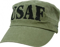 View Buying Options For The USAF Block Letters Flat Top Mens Cadet Cap