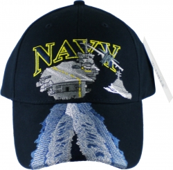 View Buying Options For The Navy with Aircraft Carrier Mens Cap