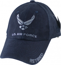 View Buying Options For The U.S. Air Force Retired Washed Mens Cap